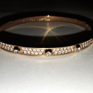 Michael Kors MKJ3269 Rose Gold/Crystal Bangle